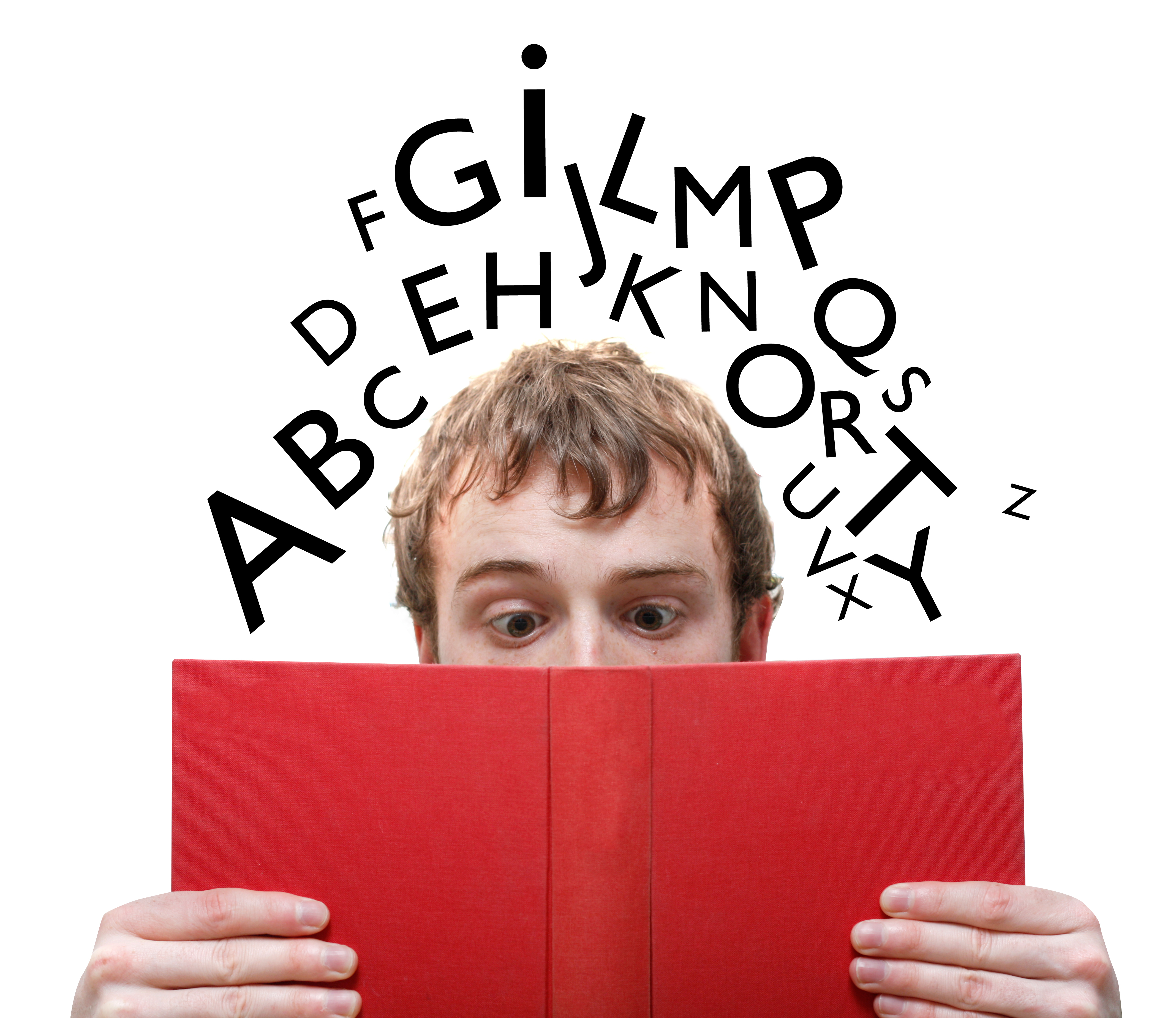 Forsker med bogstaver