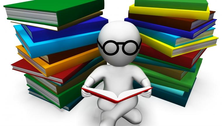 Bøger med studerende